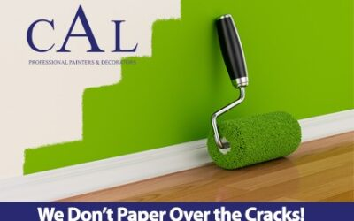 We Don't Paper Over the Cracks!