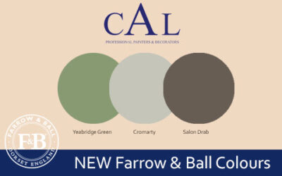 New Farrow & Ball Colours