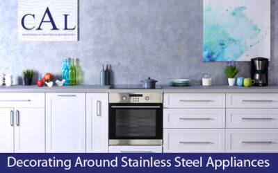 Decorating Around Stainless Steel Appliances
