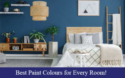 Best Paint Colours for Every Room!