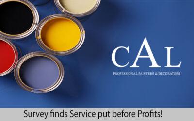 Survey finds Service put before Profits!