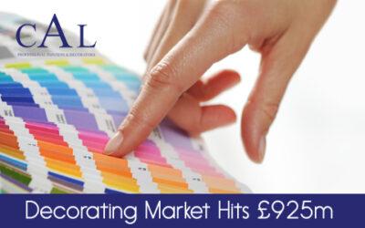 Decorating Market Hits £925m!