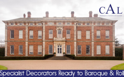 Specialist Decorators Ready to Baroque & Roll!