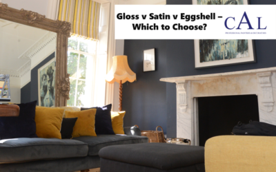 Gloss v Satin v Eggshell – Which to Choose?