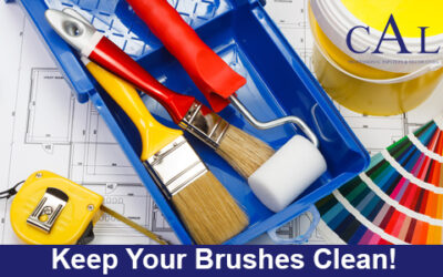 Keep Your Brushes Clean!