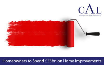 Homeowners to Spend £35bn on Home Improvements!