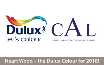 Heart Wood – the Dulux Colour for 2018!