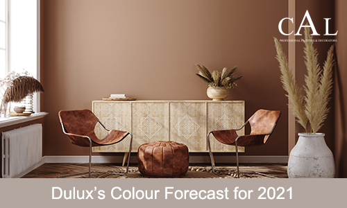 Dulux's Colour Forecast for 2021